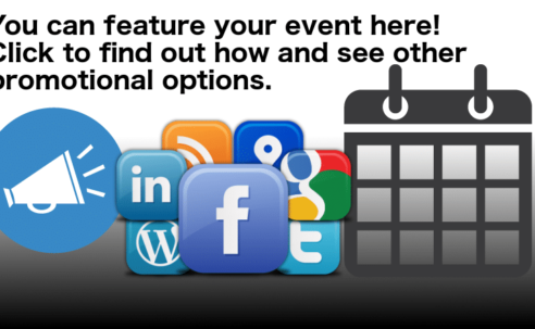 Find out how to promote your event.