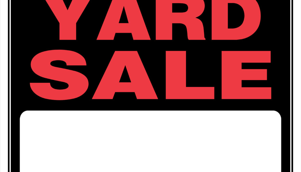 New feature – Yard sales
