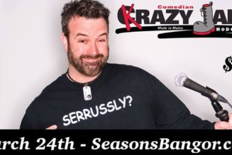 Comedy with Krazy Jake Hodgdon March 24 @ 8:00 pm