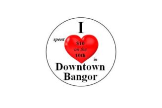 $10 on the 10th in Downtown Bangor March 10 @ 8:00 am – 8:00 pm