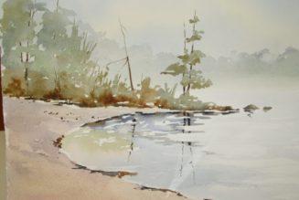 Beginner Watercolor Workshop June 16 @ 10:00 am – 4:00 pm
