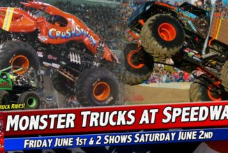 Monster Trucks at Speedway 95
