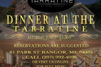 Dinner @ The Tarratine June 2nd June 2 @ 5:30 pm – 9:00 pm