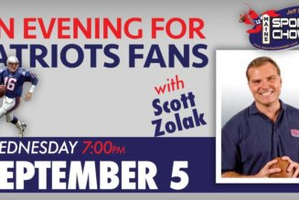 An Evening for Patriots Fans with Scott Zolak