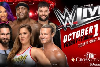WWE LIVE! October 19 @ 7:30 pm – 10:30 pm