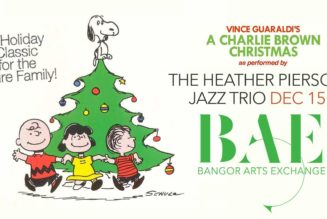 Heather Pierson Jazz Trio Presents A Charlie Brown Christmas at BAE Ballroom December 15