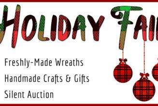 Holiday Fair & Silent Auction November 17