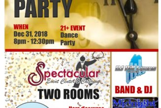 New Years Eve Dance Party December 31, 2018