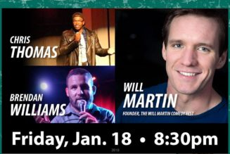 Maine Event Comedy presents Will Martin January 18