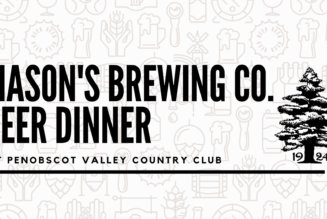 Mason's Brewing CO Beer Dinner January 18