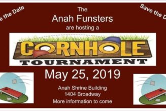 Anah Shrine Funsters Cornhole Tournament May 25