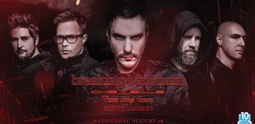 Breaking Benjamin w/ Chevelle, Three Days Grace and more