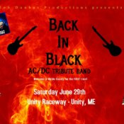 Back In Black Welcome to Waldo County June 29