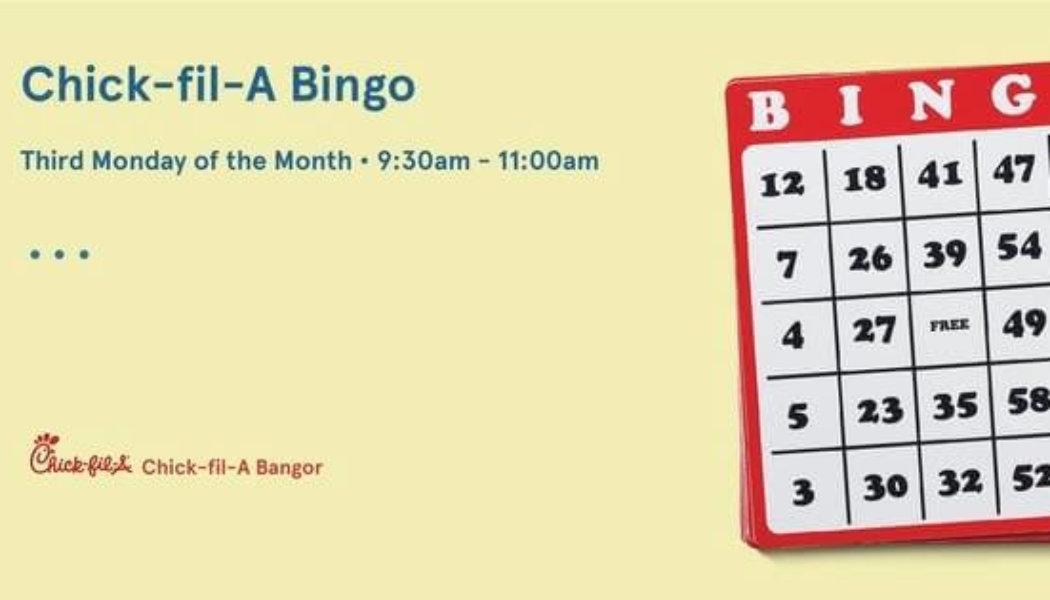 Chick-fil-A Bingo!