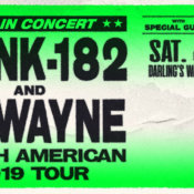 Blink-182 & Lil Wayne with special guest Neck Deep July 13
