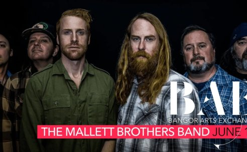 The Mallett Brothers Band at the BAE Ballroom June 14