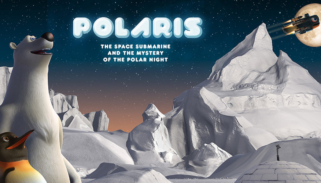 Polaris and the Mystery of Polar Night