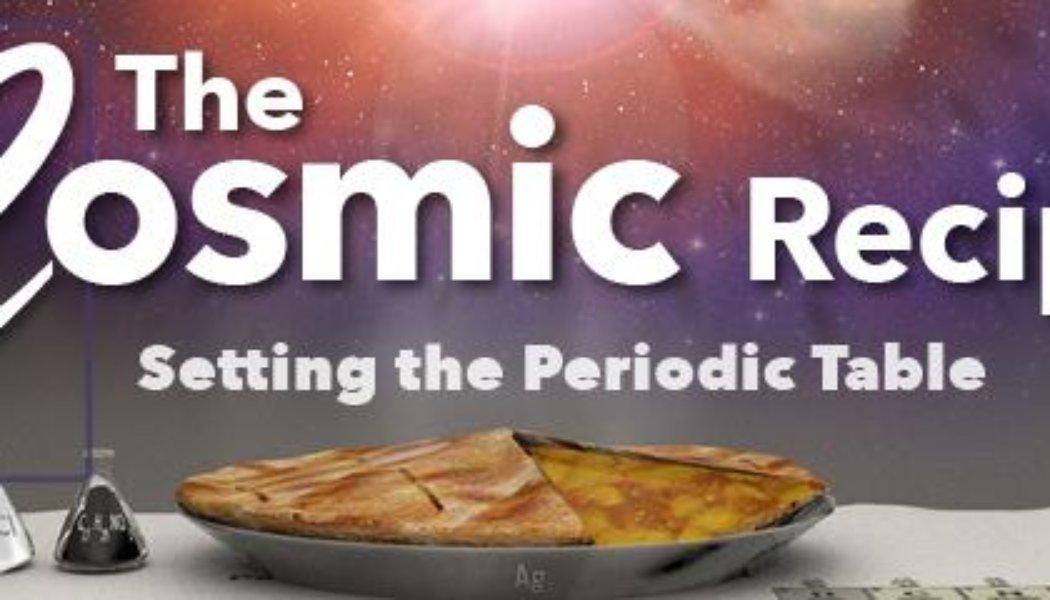 Cosmic Recipe