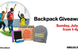Backpack Giveaway July 21