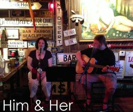 Him & Her at Paddy's!