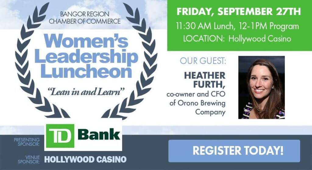 Women's Leadership Luncheon with Heather Furth