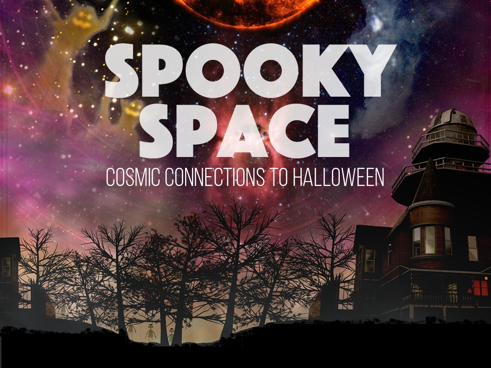 Spooky Space: Cosmic Connections to Halloween