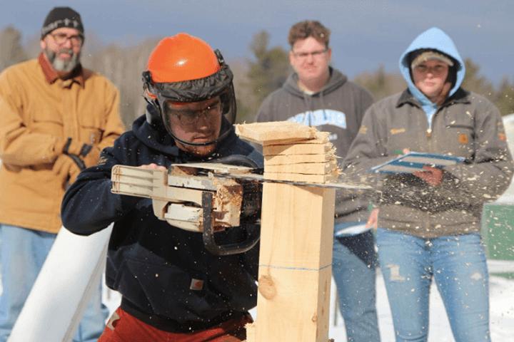 UMaine Woodsmen Competition 2020