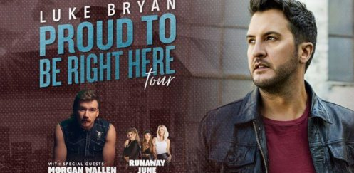 Luke Bryan's Proud To Be Right Here Tour