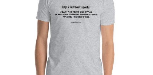 Sports Short-Sleeve Unisex T-Shirt